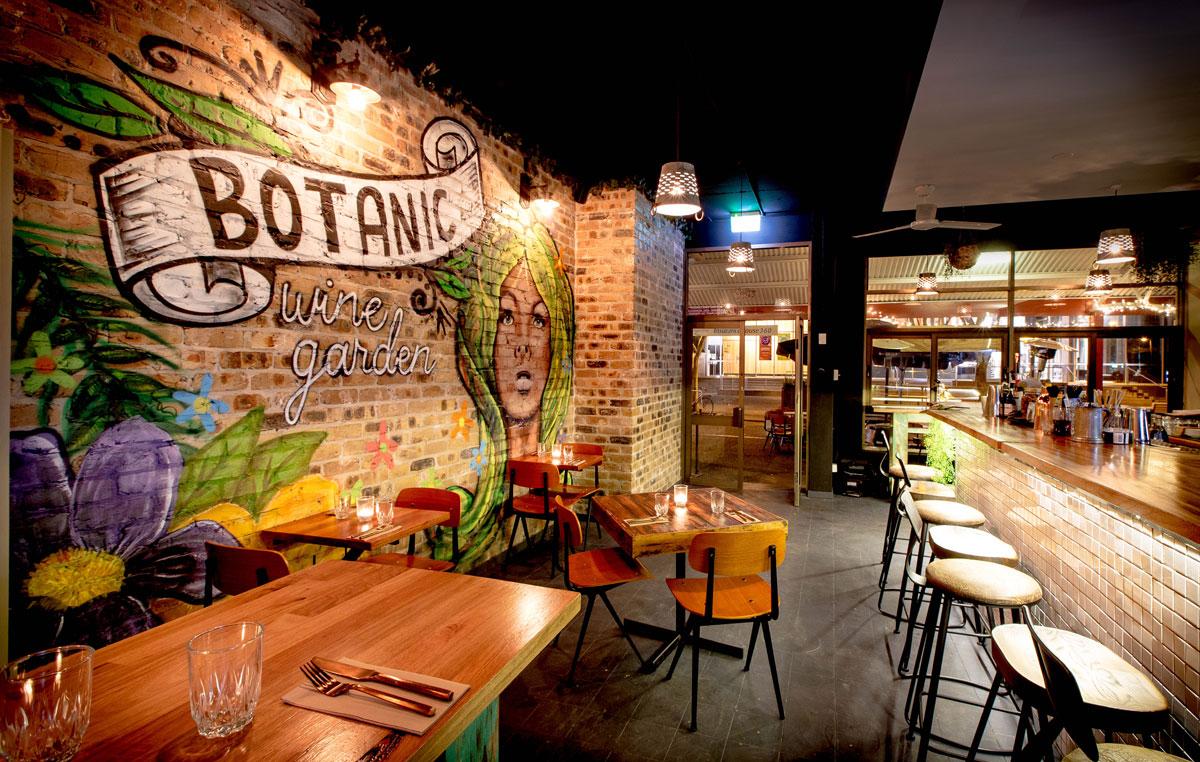 Botanic wine garden restaurant port macquarie nsw - Restaurants near bronx botanical garden ...